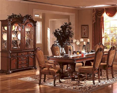 formal dining room set  classic cherry mcfd