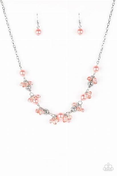 Paparazzi Orange Necklace Bead Weekday Marissasblingonabudget