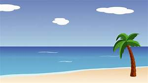 Animated Beach Scene - YouTube