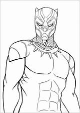 Panther Coloring Pages Movie sketch template