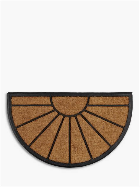 Sunburst Doormat by Lewis Partners Sunburst Rubber And Coir Door Mat