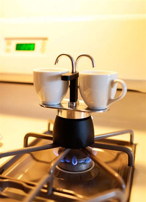 And you'd rather not invest in a bulky, expensive machine for your home (what are they. Double Spout Stovetop Espresso Maker