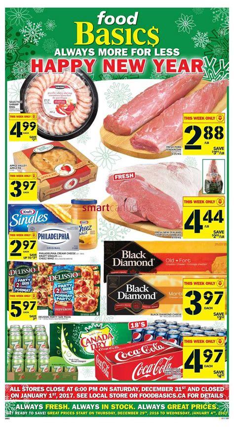 basics of cuisine food basics flyer december 29 to january 4