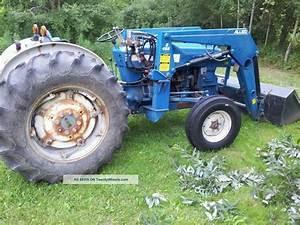 Ford 4600 Su Tractor Specs