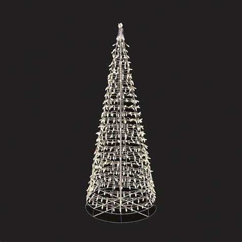 7401002 01t 7ft energy best twinkling tree with warm white led lights outdoor christmas