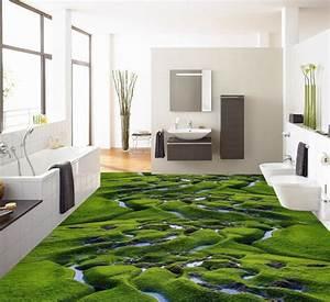 Revetement De Sol Adhesif : d coration d 39 int rieur zen rev tement de sol paysage ~ Premium-room.com Idées de Décoration