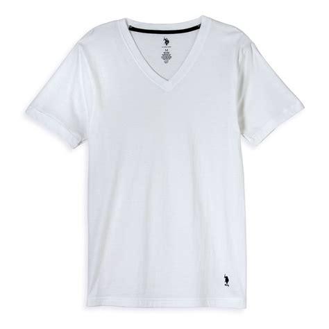 kaos tshirt polos v neck vneck u s polo assn 39 s v neck t shirt 3 pack