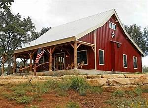 Metal Barn Style Home Plans Ideas