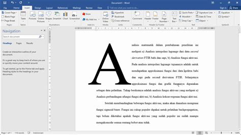 Make A Bid Make A Big Letter Or Drop Cap Microsoft Word