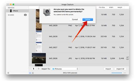 how to delete photos from iphone on mac how to delete all photos from iphone