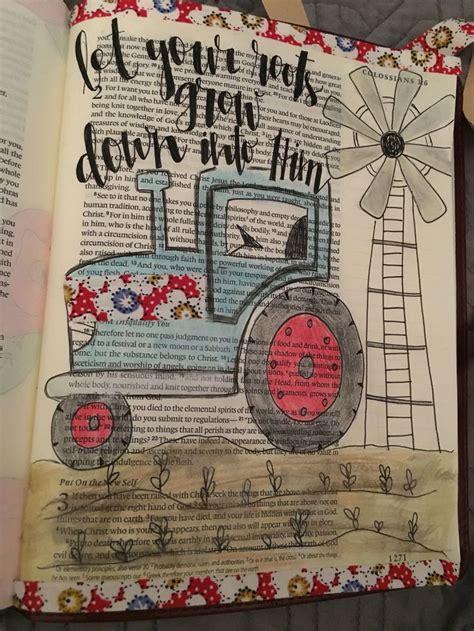 atshaynadanae bible journaling tractor colossians