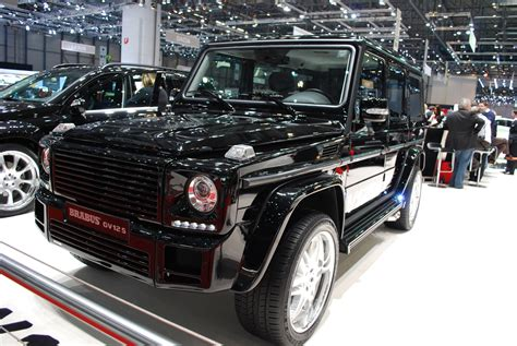 Geneva 2009 Brabus G V12 S Biturbo Photo Gallery Autoblog