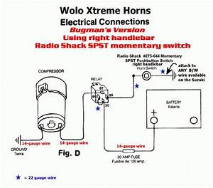 Air Horn Wiring Diagram