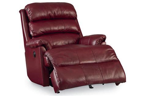 burgundy leather rocker recliner