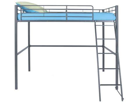 chambre bébé conforama lit mezzanine 140x200 cm line coloris gris vente de