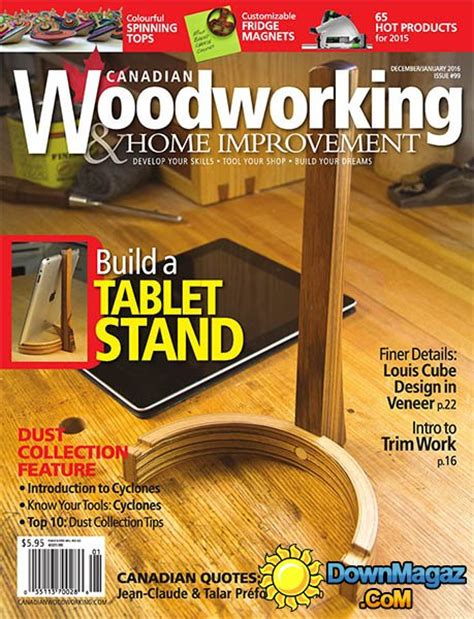 canadian woodworking home improvement  december