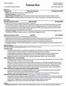 software developer cover letter entry level what do tech companies look for in an entry level resume
