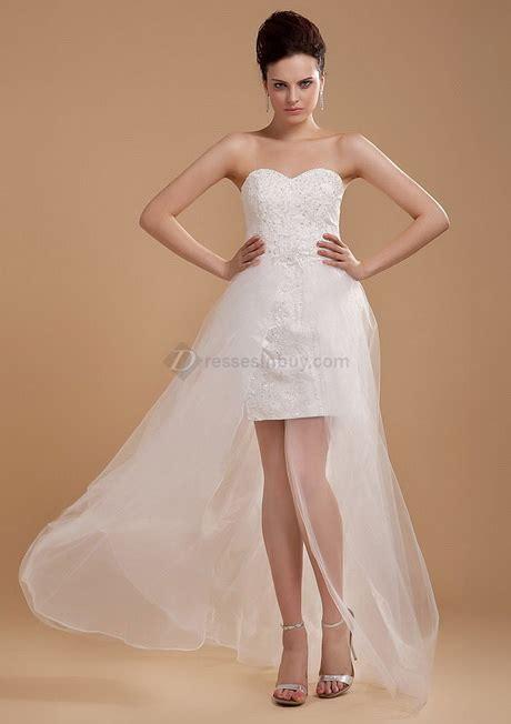 short bridal reception dresses