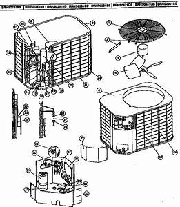 Coleman    Evcon Ind  Heat Pump Brhs Series Parts