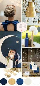 Twinkle twinkle little star blue gold wedding ideas for Blue and gold wedding ideas