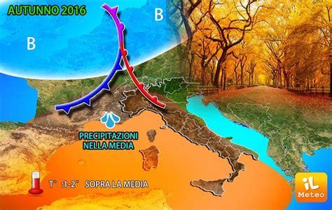 meteo italia l autunno 232 alle porte eccole prime indicazioni modello centro europeo