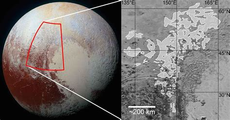 pluto s strange ridges formed from ancient glaciers d brief