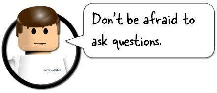 Don T Be Afraid To Ask Questions Here S How To Be An E Learning Superstar In 2010 The