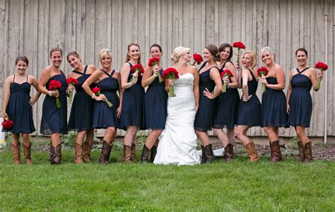 An All American Red, White & Blue Wedding At Mountain