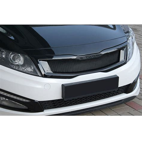 Kia Grill by Roadruns Front Radiator Grill Glossy Black For Kia