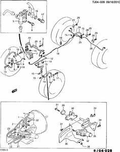 Geo Tracker Fitting  Brake Hose  Hydraulic Brake Pipe