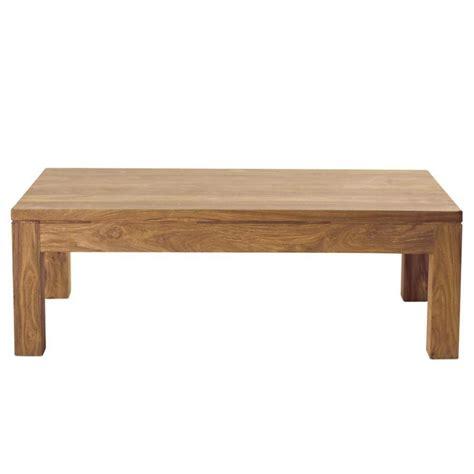 table basse en bois de sheesham massif   cm stockholm maisons du monde