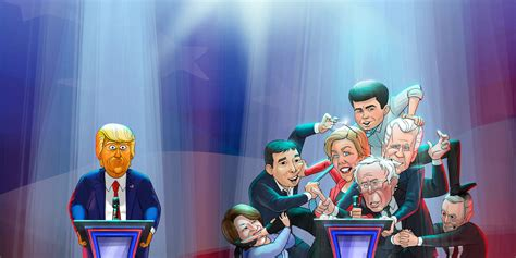 cartoon president showtime characters money sun episodes cast series tv mar secret seasons