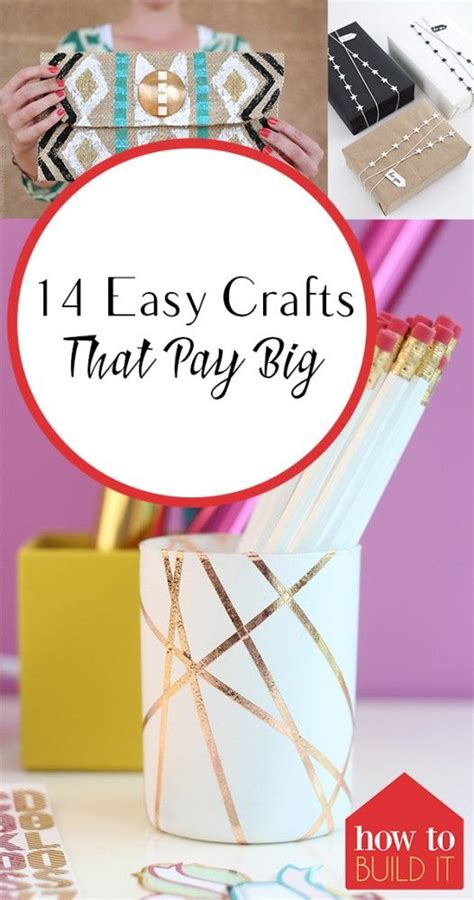 easy crafts  pay big money making crafts easy