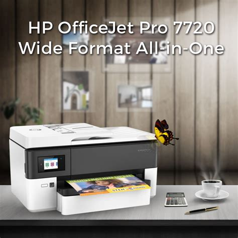 However, kind of this printer is very suitable for you to work at the office. HP OfficeJet Pro 7720 Wide Format All-in-One Review   Hp officejet pro, Wide format, Printer driver