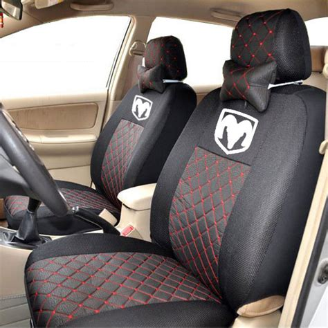 housse siege c1 4color silk breathable embroidery logo customize car seat