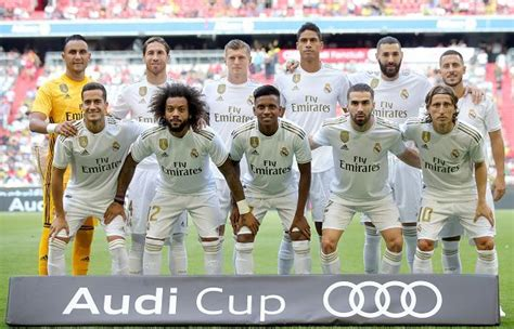 laliga ideal starting xi real madrid