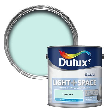 Dulux Light & Space Lagoon Falls Matt Emulsion Paint 2.5L