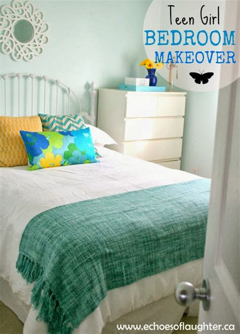 Teen Girl Bedroom Makeover  Echoes Of Laughter