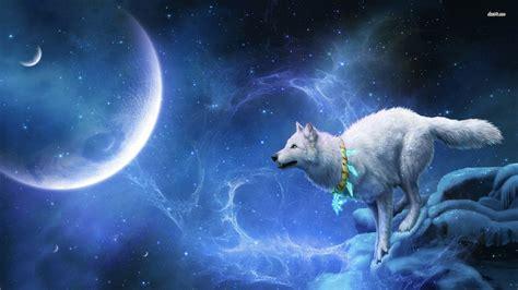 Digital Wolf Wallpaper by Wolf In Space Wallpaper Wallpaper Wide Hd