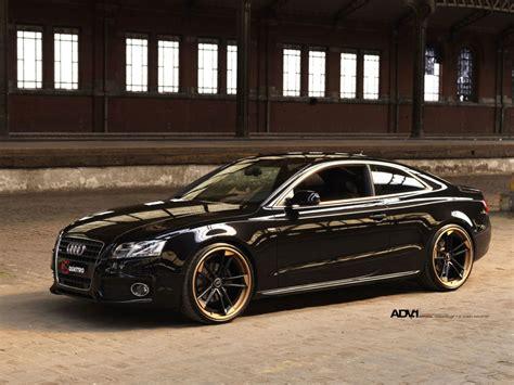 Black Audi A5  Advrsq1 Track Spec Super Light  Matte Black