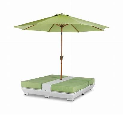 Umbrella Lounge Chairs Daytona Gemini Outdoor Patio