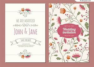 flowers images for wedding cards wedding card with With wedding invitations cartoon pictures