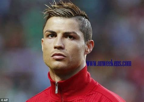 cristiano ronaldo  world cup hairstyles hot photo