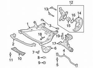 Mazda Cx-9 Engine Cradle  Front   Suspension
