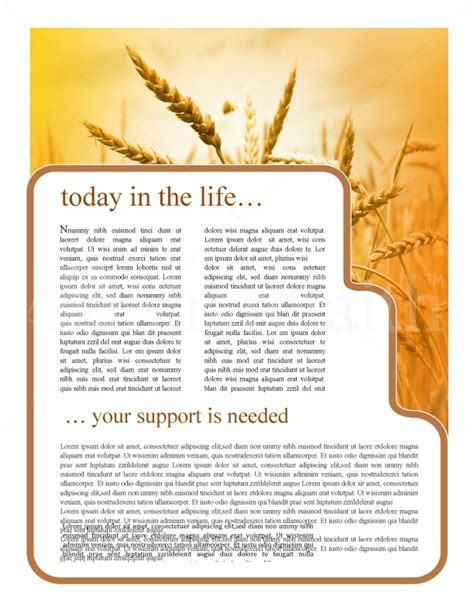 history  thanksgiving newsletter template template
