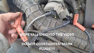How To Replace Spark Plugs And Wires 6 Cylinder Ford