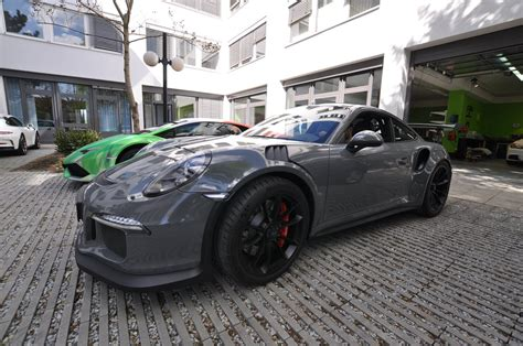 porsche gt3 rs wrap stone cold grey porsche 911 gt3 rs wrap for the slightly