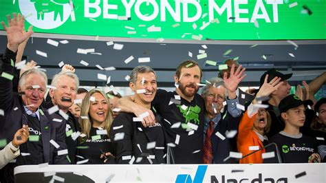 Beyond Meat's Stock Rockets In Its Debut, Trades Nearly