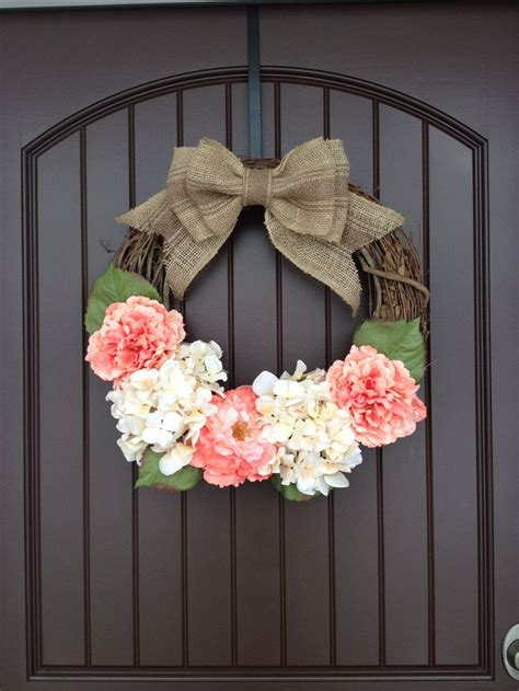 diy door wreaths spring door wreath diy door wreath so easy to make only