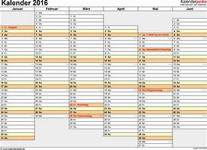 Sich Selber Erstellen : kalender 2016 zum ausdrucken als pdf 16 vorlagen kostenlos ~ Buech-reservation.com Haus und Dekorationen
